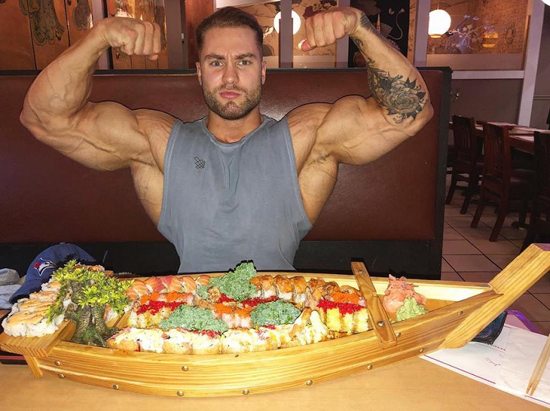Chris Bumstead Food