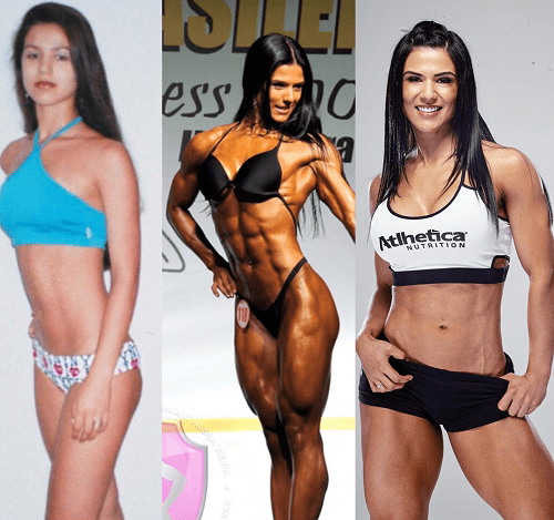 Eva Andressa Physique Transformation