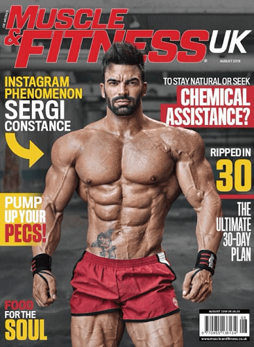 Sergi Constance Magazine Cover
